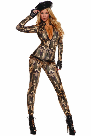 Charming Cadet Sexy Army Costume