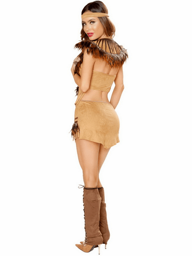 Cherokee Inspired Hottie Costume
