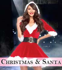 Christmas Lingerie & Santa's Outfits/Costumes
