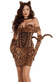 Cinched Up Kitty Costume