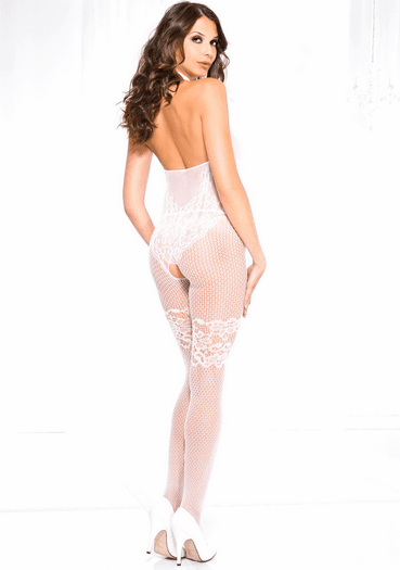 Classic Love Crotchless Bodystocking