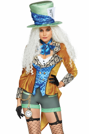 Classic Mad Hatter Costume