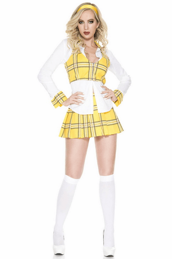 Clueless School Girl Halloween Costume