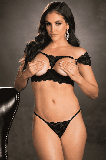 Come Away With Me Bra & G-String Set
