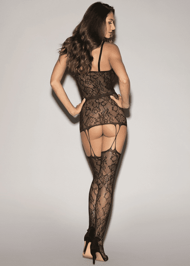 Come Over Fishnet Bodystocking