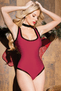 Corset Back Crotchless Teddy