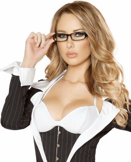 Costume Secretary Glasses