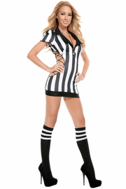 Cut Out Naughty Referee Sexy Costume