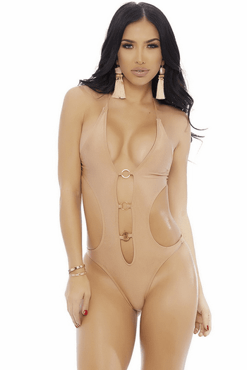 Cut Out Plunge Monokini