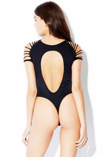 Cut Out Thong Teddy