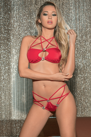 Dance For Me Strappy G-String