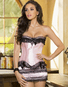 Dare To Love Burlesque Corset And Skirt Set