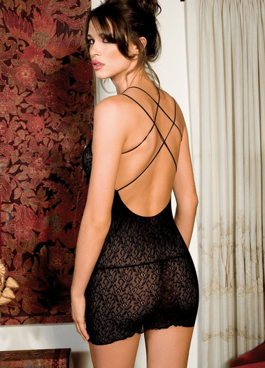 Darling Diva Sexy Lace Chemise