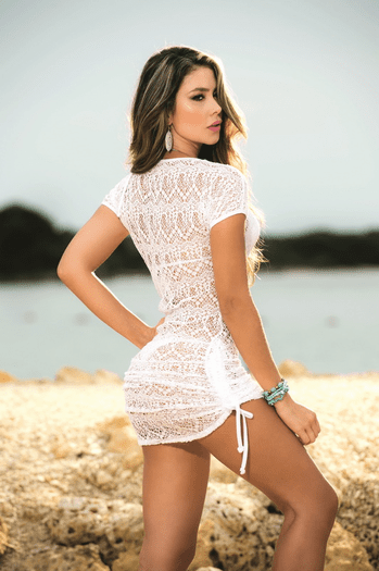 Date By The Lake Sexy Cover Up Beach Dress