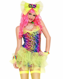 Dazed Go Go Dancer Costume