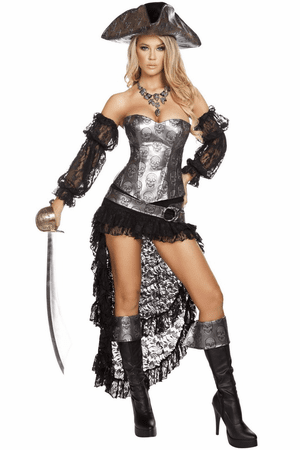 Deadly Pirate Captain Costume
