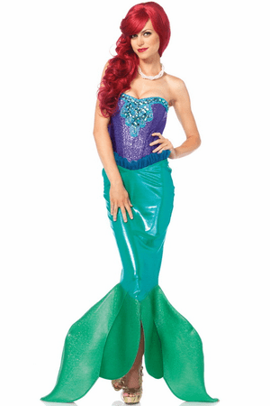 Deep Sea Siren Sexy Mermaid Costume