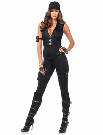 6bd3125bf3f Deluxe SWAT Commander Sexy Costume