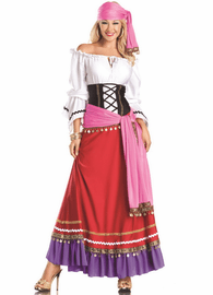 Deluxe Tempting Gypsy Sexy Costume
