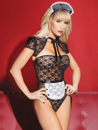 Dirty Maid Lace Bedroom Costume