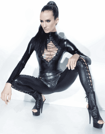 Dominatrix Beauty Sexy Jumpsuit