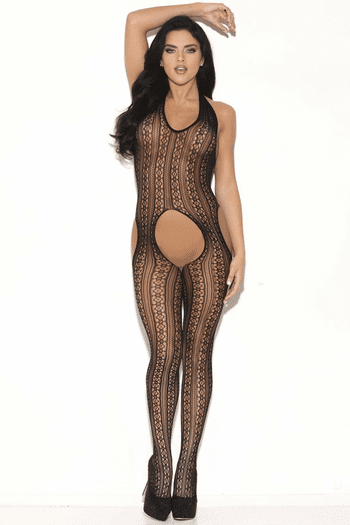 Don't Hold Back Crotchless Bodystocking