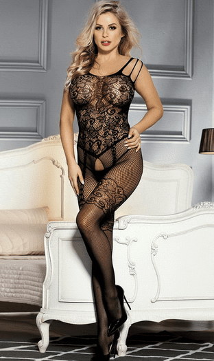 Done With Love Crotchless Bodystocking