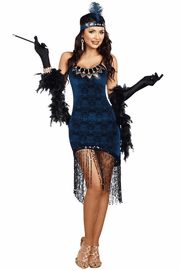 Downtown Doll Sexy Flapper Costume