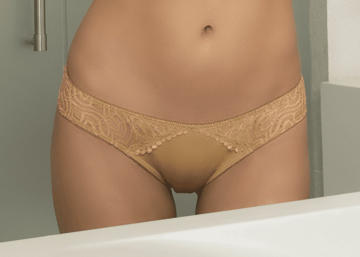 Edgy Lace Panty