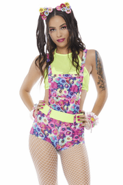 Electrified Daisy Overall