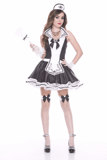 Elegant French Maid Sexy Costume