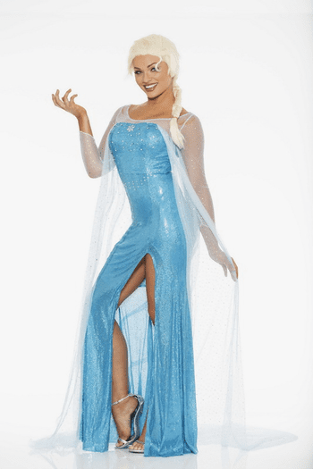 Elsa Queen Cosplay Costume