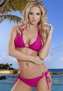 Erotic Paradise Hot Pink Bikini Set