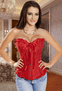 Everlasting Love Red Strapless Corset