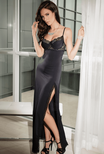 Expecting You Tonight Sexy Long Gown
