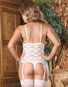 Exposed Love Lace Cupless & Crotchless Teddy