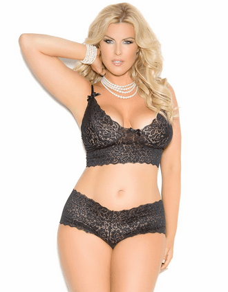 Extra Plus Size Diana's Crush Sexy Lace Set