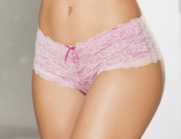 Fall In Love Pink Lace Boy Short Panty