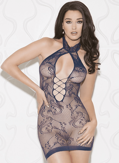 Fancy That Navy Blue Chemise