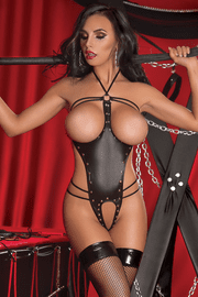 Fetish Cupless & Crotchless Teddy