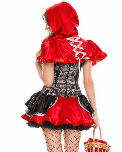 Fiery Lil Red Sexy Costume