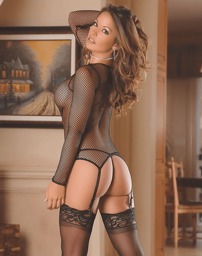 Fishnet Collection Merry Widow Jacket/G-Set