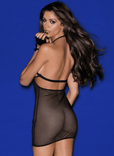 Fishnet Fire Sexy Chemise