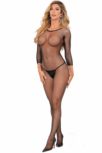 Fishnet Open Cup Bodystocking