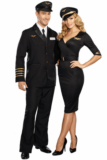 Flight Captain Sexy Costume