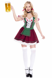 Flirty Beer Girl Costume