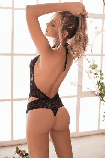 Floral Lace Plunge Teddy