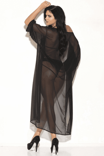 For The Love Mesh Robe