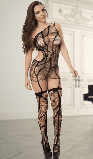 Forever Yours Bodystocking Dress