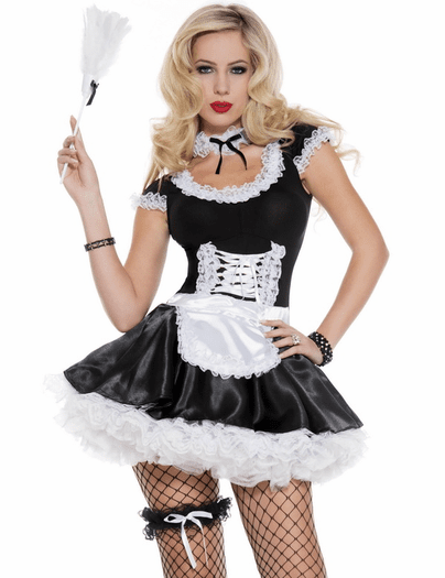 French Frisk Maid Costume